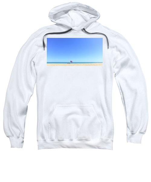 Sweatshirt featuring the photograph Chilling At Cable Beach by Chris Cousins
