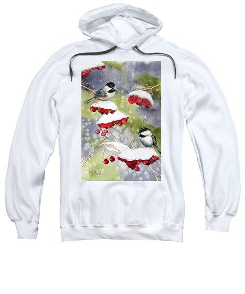 Chilly Chickadees Sweatshirt