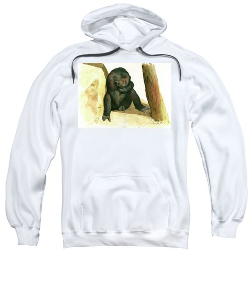 Chimp Sweatshirt by Juan Bosco