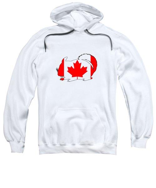 Chinchilla Canada Sweatshirt by Mordax Furittus