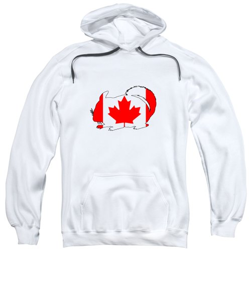 Chinchilla Canada Sweatshirt
