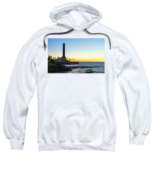 Chipiona Lighthouse Cadiz Spain Sweatshirt