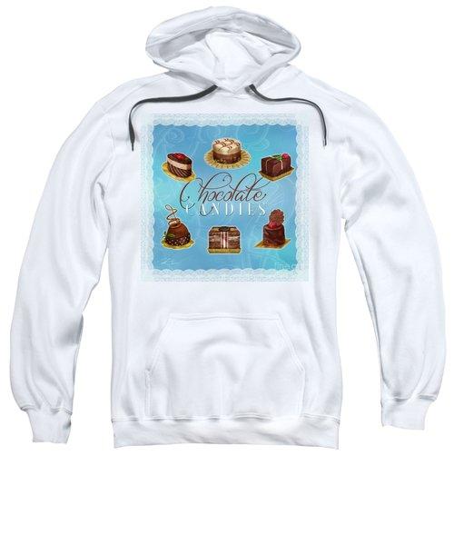 Chocolate Candies Sweatshirt