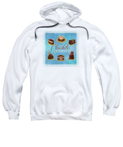 Chocolate Candies Sweatshirt
