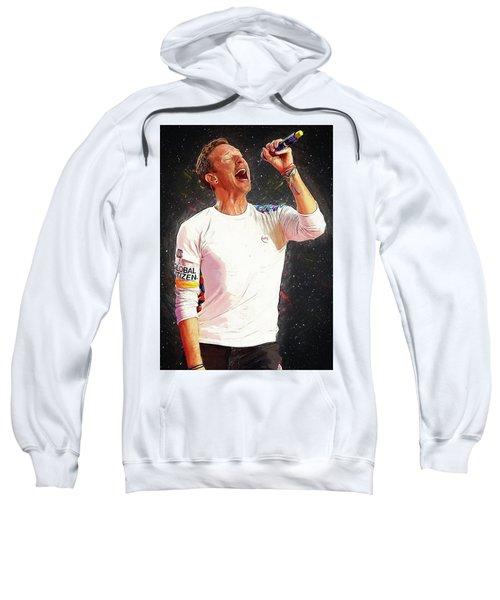 Chris Martin - Coldplay Sweatshirt by Semih Yurdabak