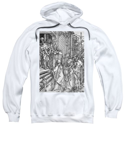 Christ Presented To The People Sweatshirt