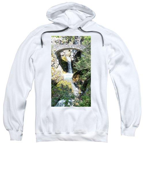 Christine Falls - Mt Rainier National Park Sweatshirt