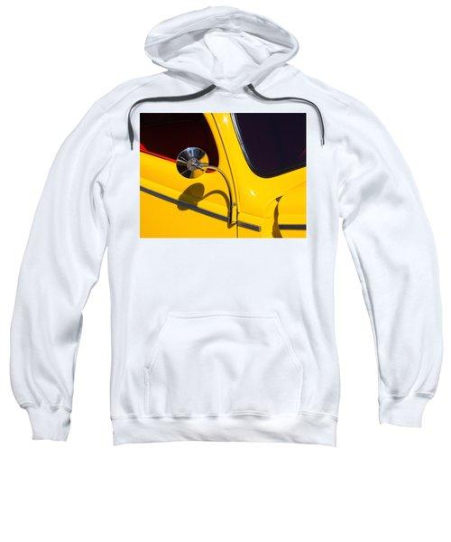 Chrome Mirrored To Yellow Sweatshirt