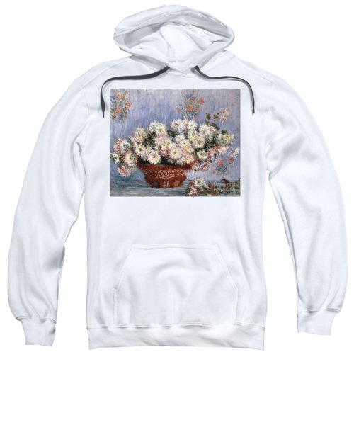 Chrysanthemums, 1878  Sweatshirt