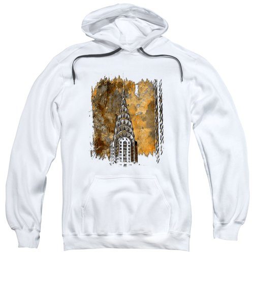 Chrysler Spire Earthy 3 Dimensional Sweatshirt