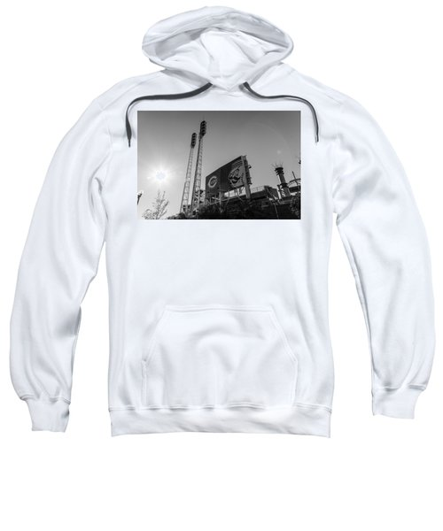 Cincinnati Reds Riverfront Stadium Black And White  Sweatshirt
