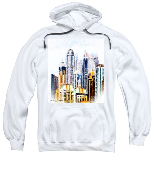 City Abstract Sweatshirt