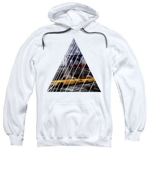 City-art Nyc Composing Sweatshirt by Melanie Viola