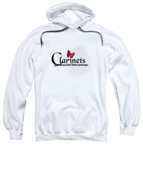 Clarinets And Butterfly Sweatshirt