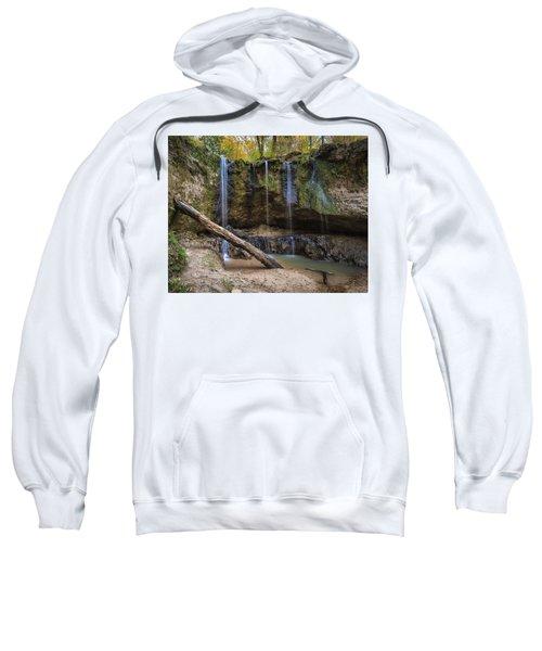 Clark Creek Waterfall No. 1 Sweatshirt