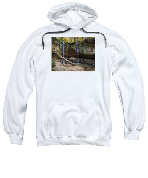 Clark Creek Waterfall No. 1 Sweatshirt