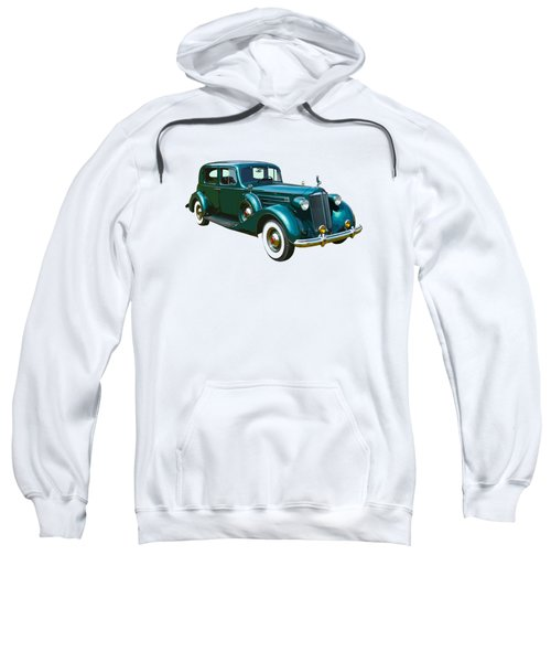 Classic Green Packard Luxury Automobile Sweatshirt