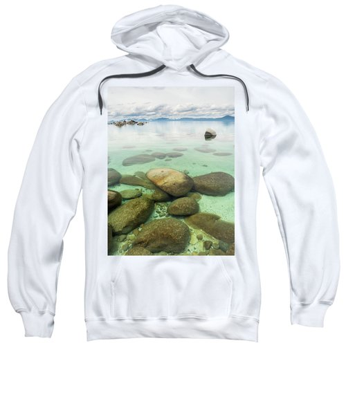 Clear Water, Stormy Sky Sweatshirt