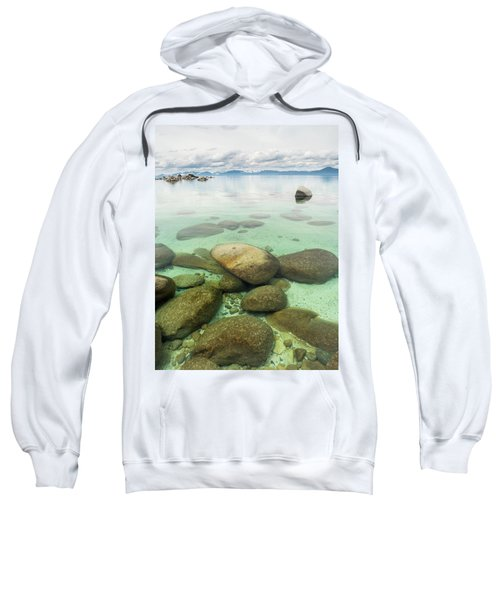 Clear Water, Stormy Sky Sweatshirt