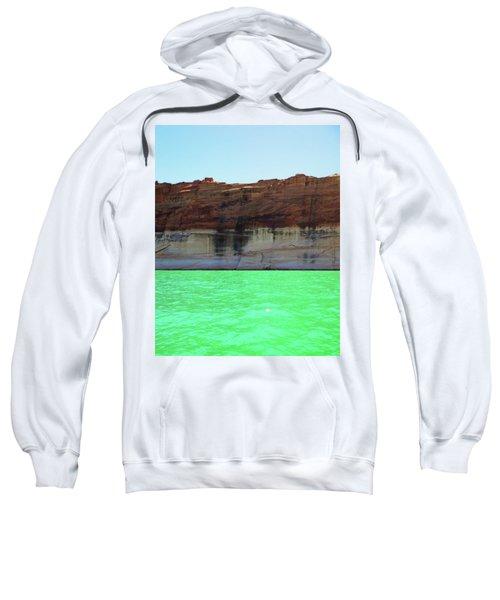 Cliff At Lake Powell Sweatshirt