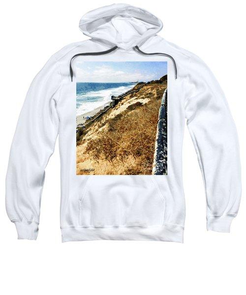 Cliff View - Carlsbad Ponto Beach Sweatshirt
