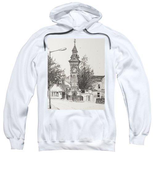 Clock Tower  Hay On Wye Sweatshirt