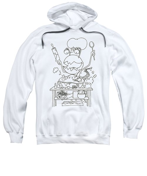 Closet Monster Baking Sweatshirt