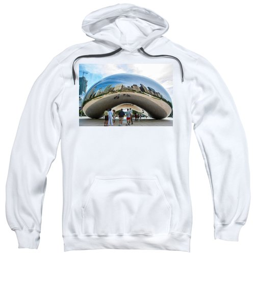 Cloud Gate Aka Chicago Bean Sweatshirt