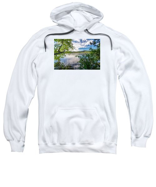 Cloud Swirl Mt. Chocorua Nh Sweatshirt