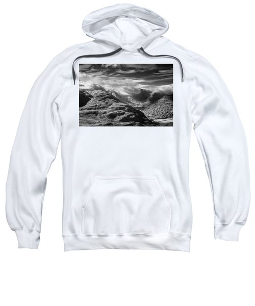 Clouds Above Brothers Water Sweatshirt