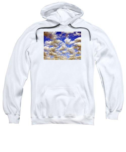 Clouds Blue Sky Sweatshirt