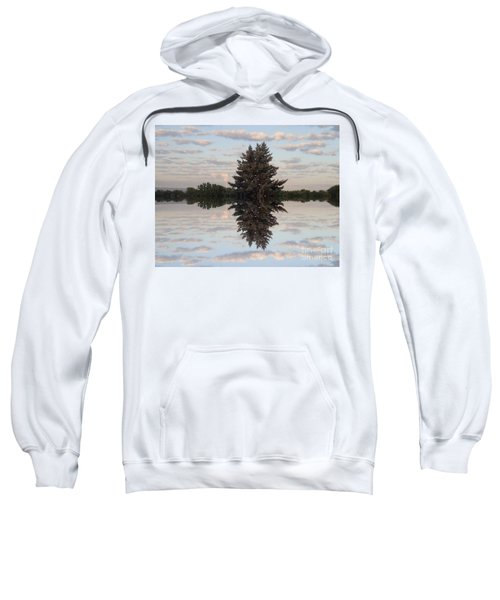 Clouds Up And Down Sweatshirt