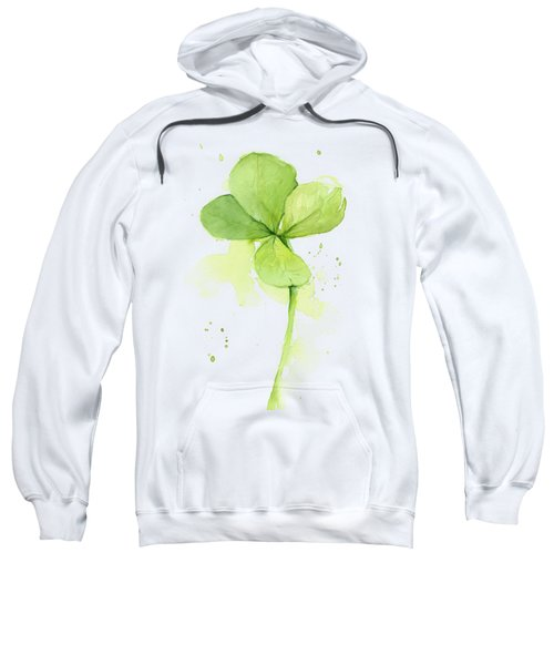 Clover Watercolor Sweatshirt