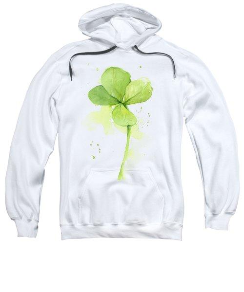 Clover Watercolor Sweatshirt