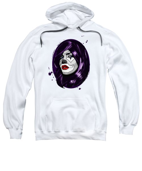 Clown Girl Sweatshirt
