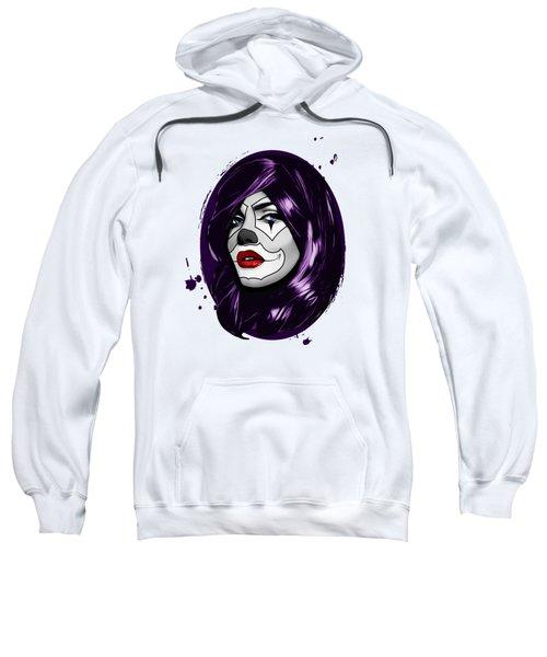 Clown Girl Sweatshirt
