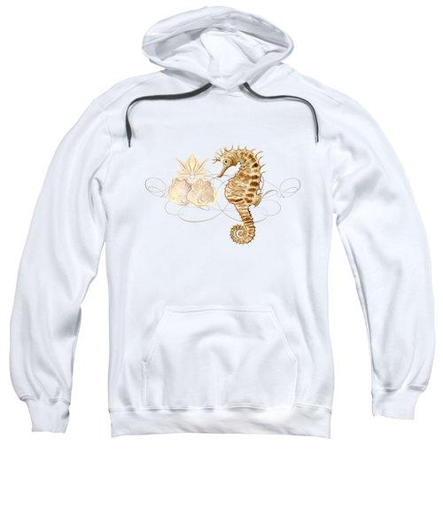 Coastal Waterways - Seahorse Rectangle 2 Sweatshirt