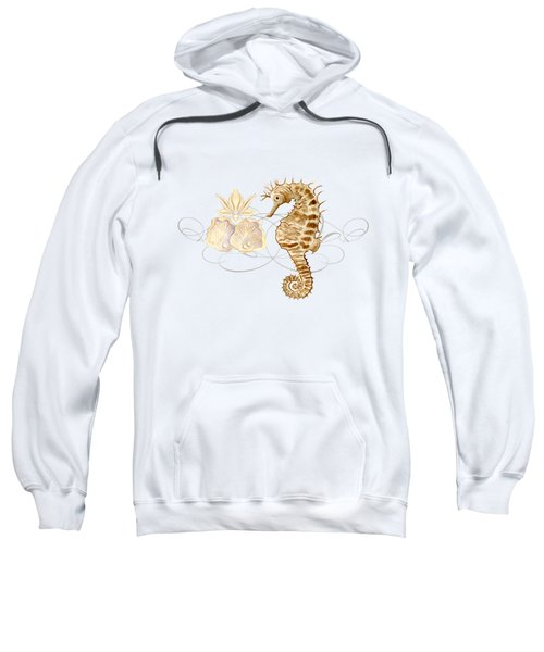 Coastal Waterways - Seahorse Rectangle 2 Sweatshirt