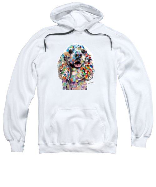 Cocker Spaniel Head Sweatshirt