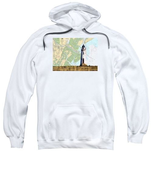 Cockspur On Navigation Chart Sweatshirt