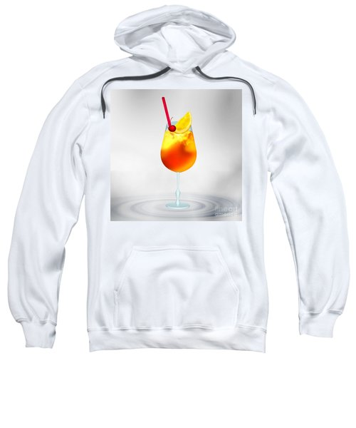 Cocktail Lime Cherry Sweatshirt