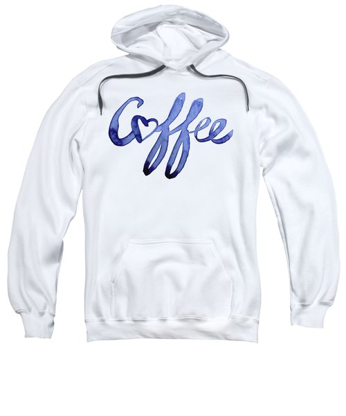 Coffee Love Typography Sweatshirt