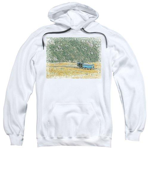 Cog Railroad Train. Sweatshirt