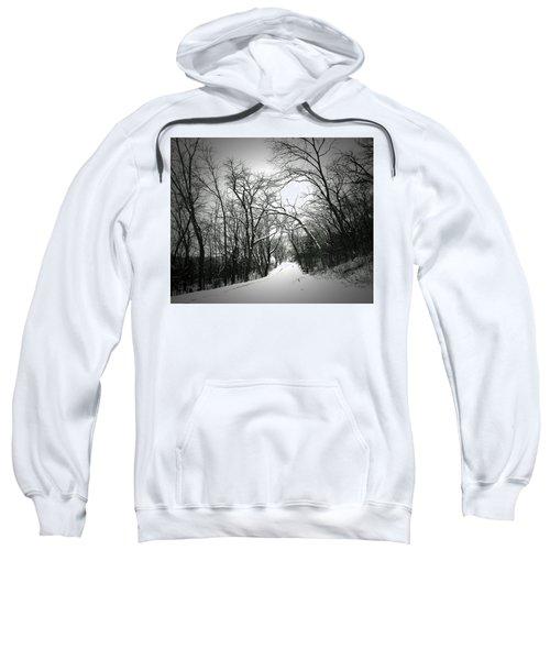 Cold Black Road Sweatshirt