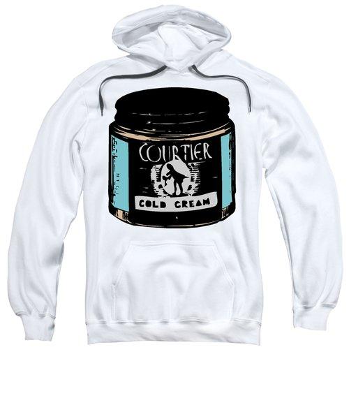 Sweatshirt featuring the digital art Cold Cream by ReInVintaged