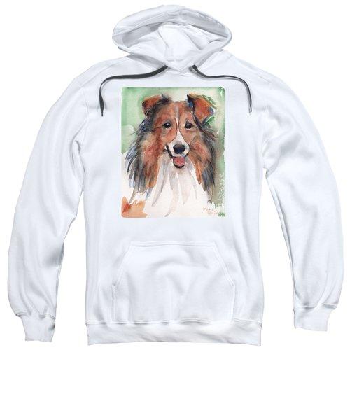 Collie, Shetland Sheepdog Sweatshirt by Maria's Watercolor