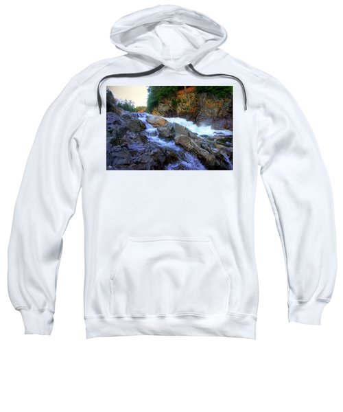 Color Steps At Livermore Falls Sweatshirt