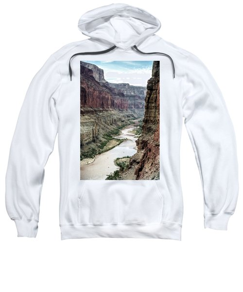 Colorado River And The East Rim Grand Canyon National Park Sweatshirt