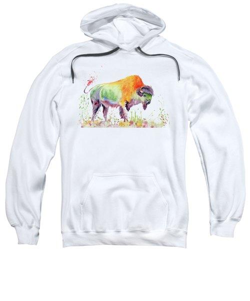 Colorful American Buffalo Sweatshirt