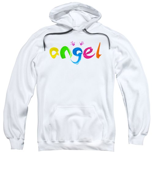 Colorful Angel Sweatshirt